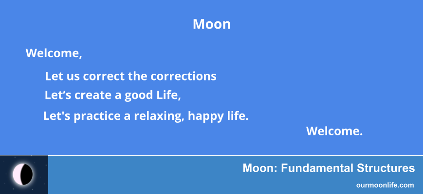 Moon Fundamental Structures