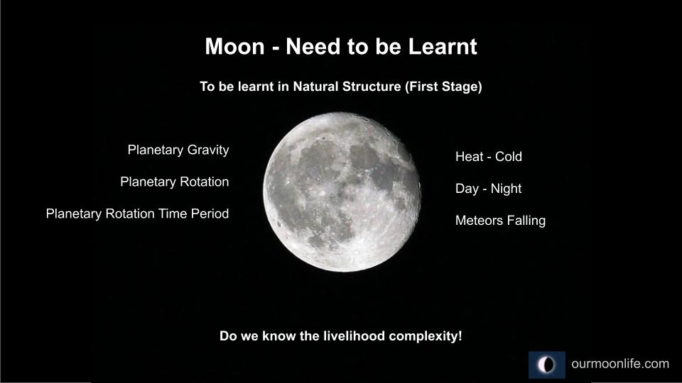 Moon - Need to be Learnt