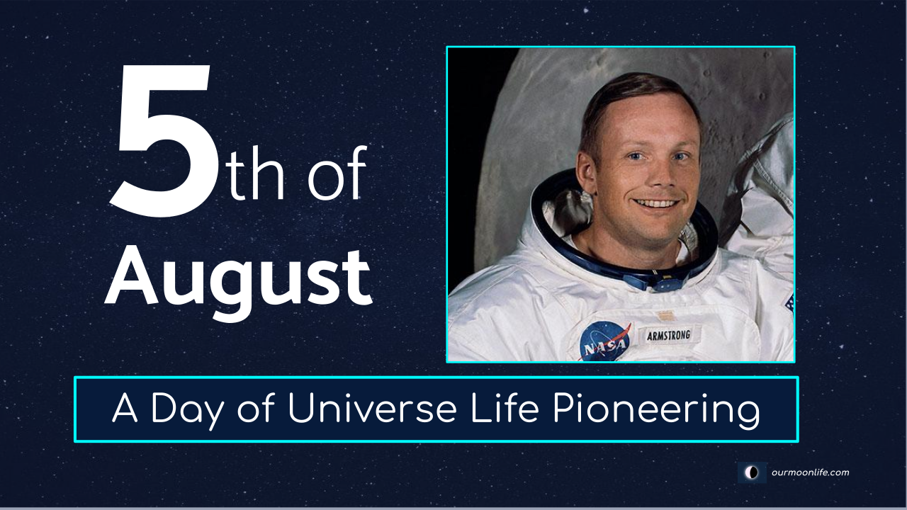 Universe Life Pioneering day - 5th of August